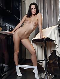 Jasmine Jazz naked in glamour MORNING SHOW gallery - MetArt.com