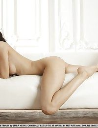 Affirmative and elegant beauty with refined and subtly erotic poses.