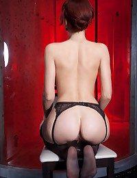 Leka keester rock anything, including her stimulating deathly lingerie