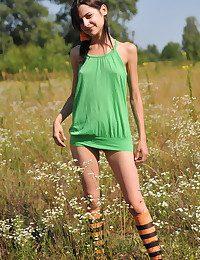 Marvelous girl outdoor