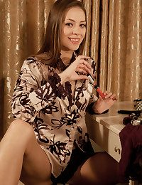 Olya Fey bare in glamour DEMTO gallery - MetArt.com