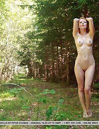Mia Sollis bare in erotic NATEA gallery