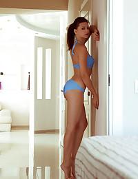 Emma Fleshy naked in erotic HARLU gallery