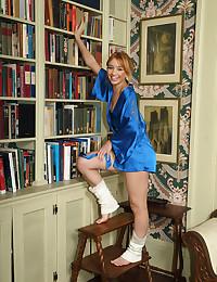 LEG WARMERS with Aurora Zvezda - ALS Scan