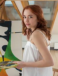Erna nude in erotic ALNIDE gallery - MetArt.com